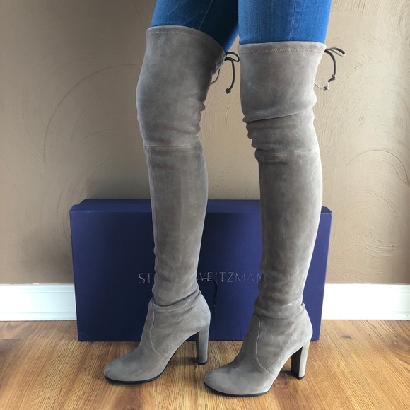 1ccccc3c4d4 Stuart Weitzman Highland Over The Knee Boots Topo